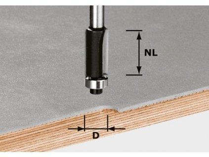 Lícovací fréza HW S8 D12,7/NL25