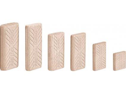 Kolíky bukové DOMINO D 8x50/600 BU