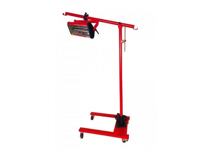 Krátkovlnný infrazářič pro sušení laků HANTtechnik 1A