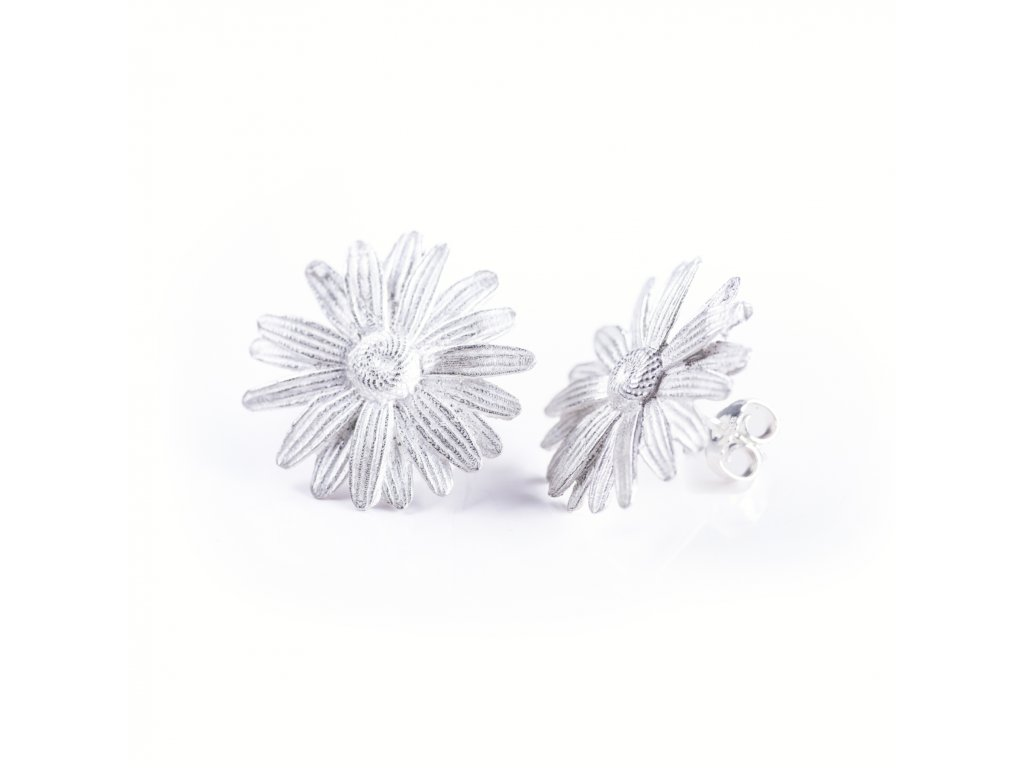 1earrings Leucanthemum