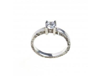 prsten maly diamant 015bf wh sq