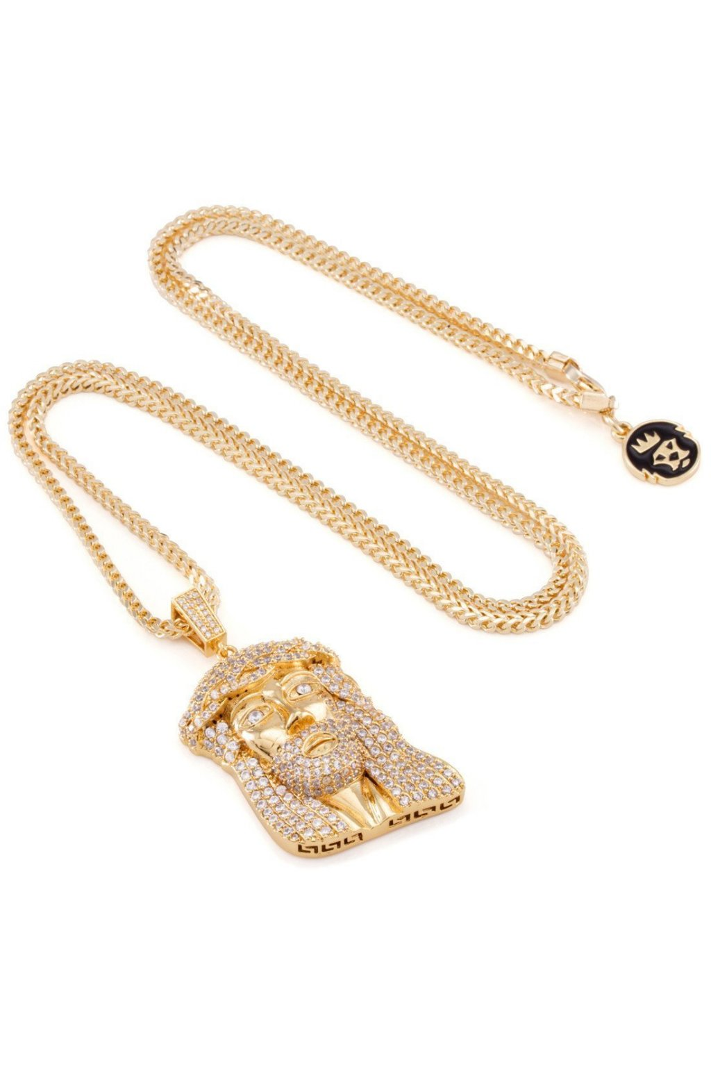 ... NKX10779 King Ice 14k Yellow Gold CZ Jesus Piece Necklace 2 aac619ee  2147 4891 9ae1 e82a560a8f42 · NKX10779 JesusPiece f9d1784a5ae