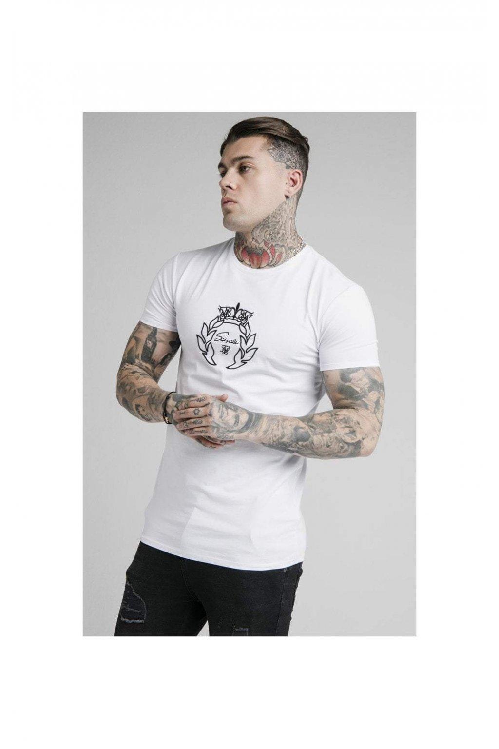 Sik Silk pánske tričko prestige embroidery gym tee