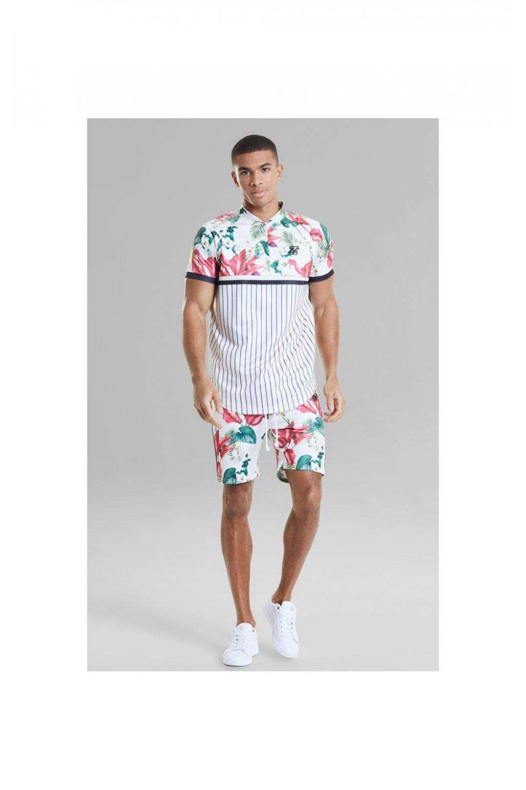 Sik Silk pánske triško Retro Tropics tee