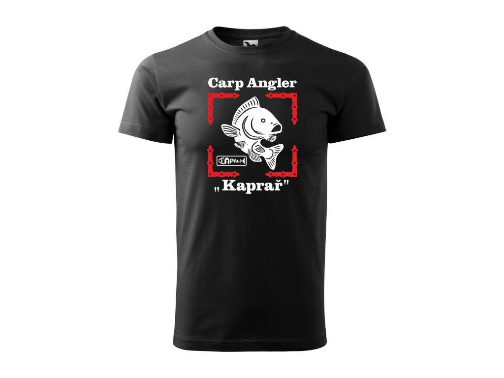 Triko pánské Carp Angler HAPALI Černá r
