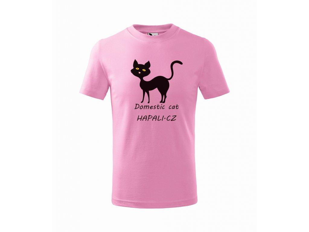 Triko dětské Kočka domácí Hapali Růžová r