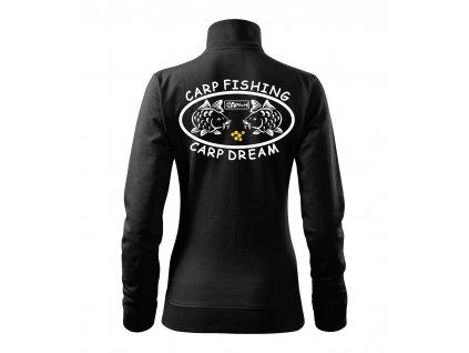 Mikina dámská Carp dream HAPALI černá r
