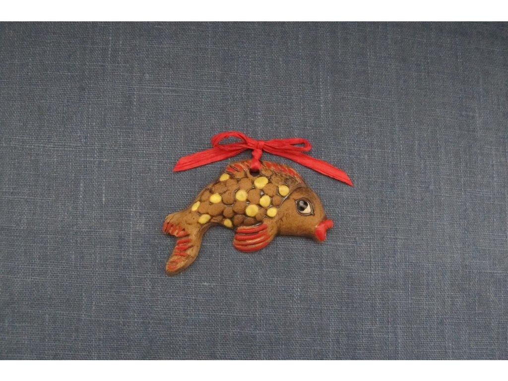 keramická rybka