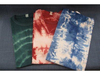 batikované tričko pro dospělé