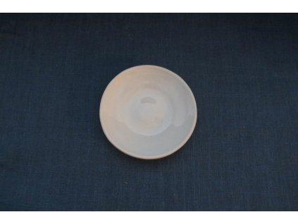 keramický talíř malý