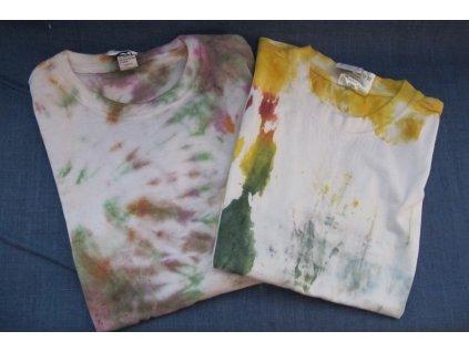 batikované tričko dětské