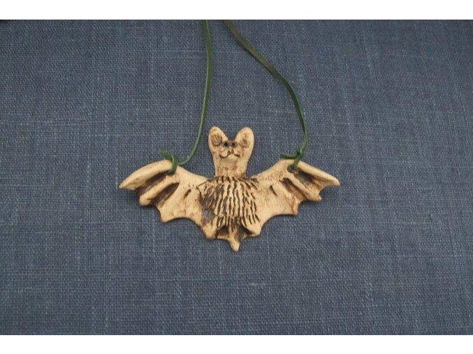 keramický netopýr větší