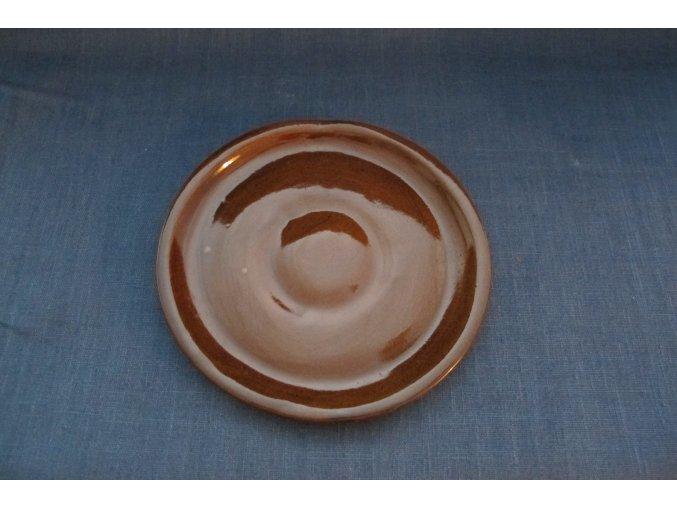 keramický talíř velký