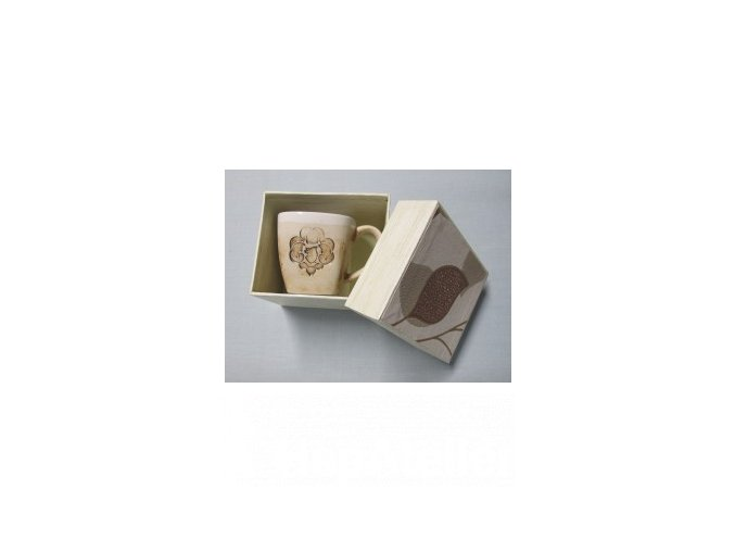 hrnek s logem Junáka nižší - dárkové balení