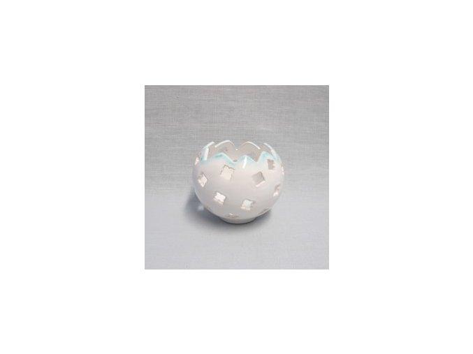 keramický svícen