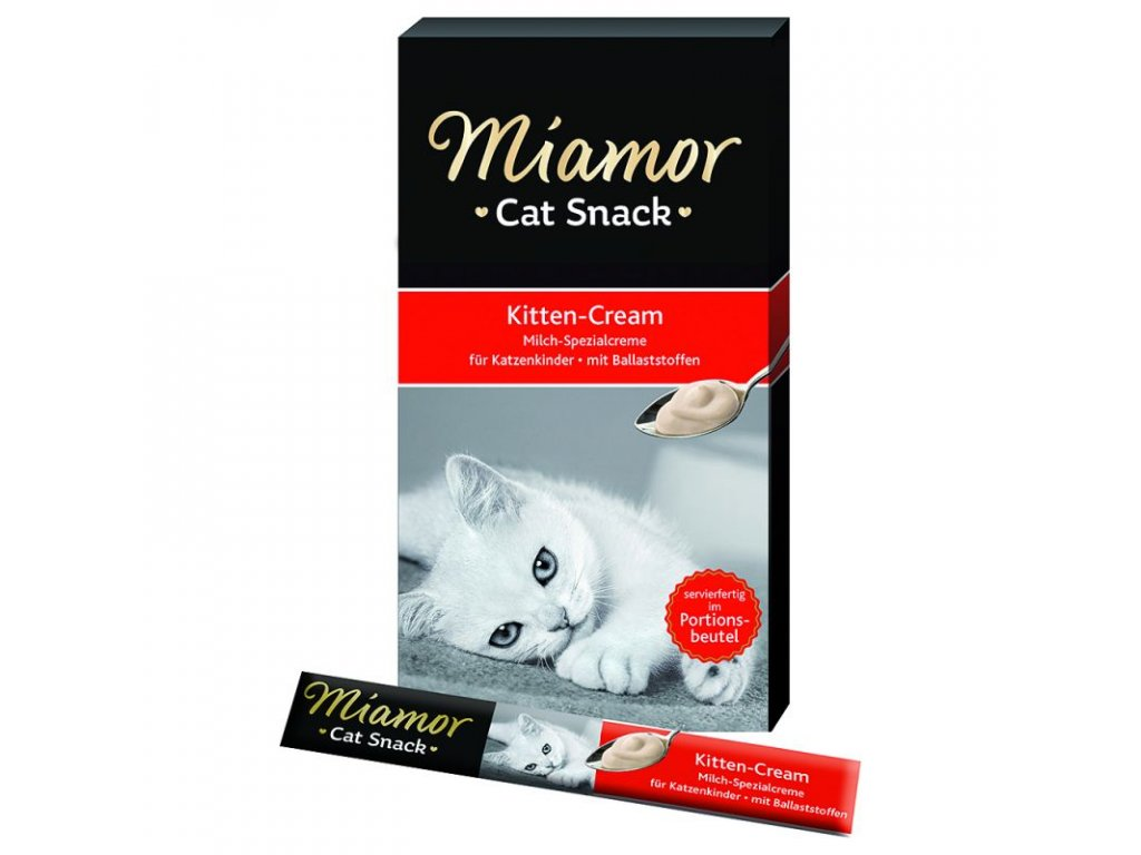 62027 PLA Miamor Cat Confect Kitten Milch Cream 5 x 15g 6