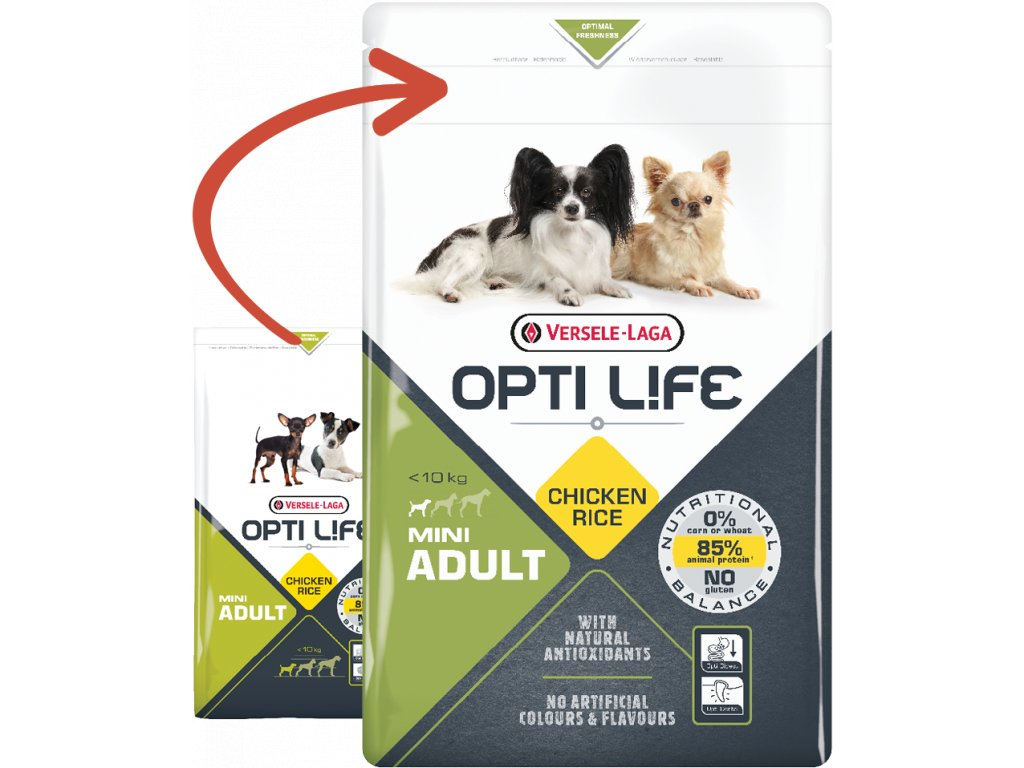 opti life adult mini 2 5kg