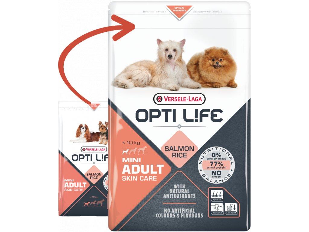 opti life adult skin care mini 2 5kg