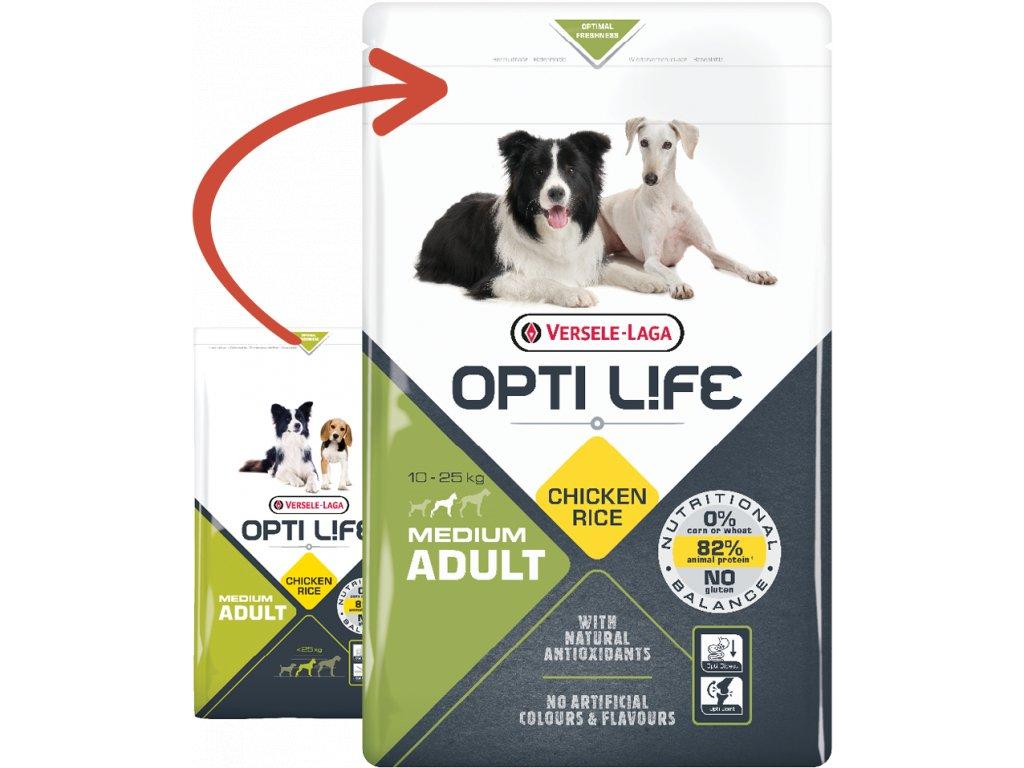 opti life adult medium 2 5kg