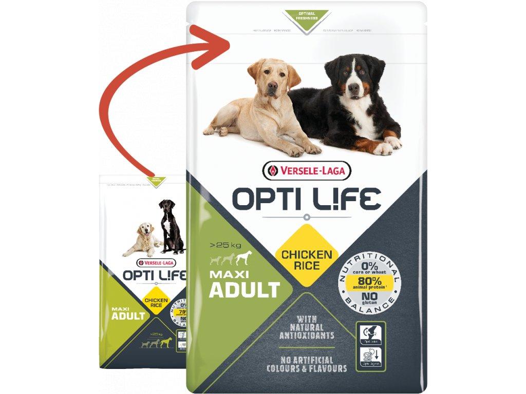 opti life adult maxi 12 5kg