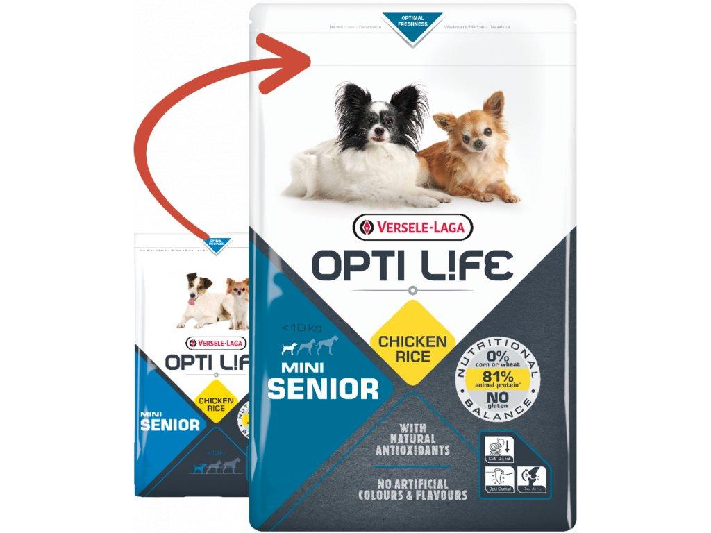 opti life senior mini 2 5kg