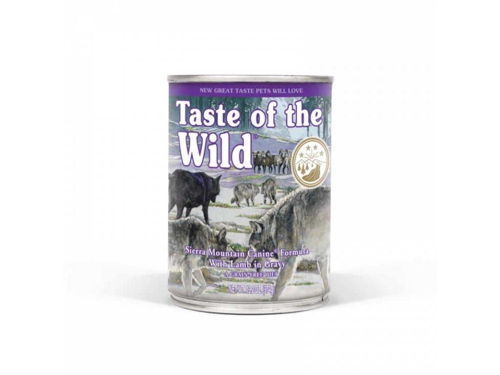 taste of the wild sierra mountain konzerva 390 g