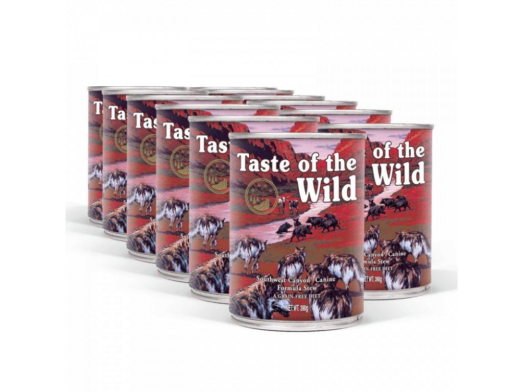 pack taste of the wild southwest canyon konzervy 12x390 g