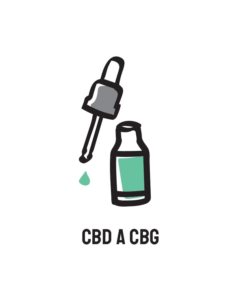 Co možná nevíte o CBD a CBG