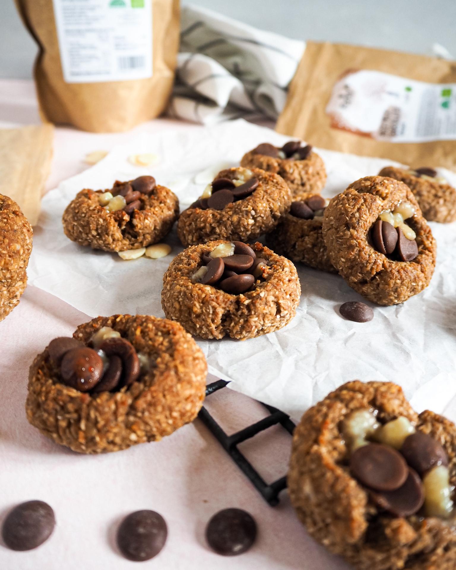 Kokosové cookies s čoko drops