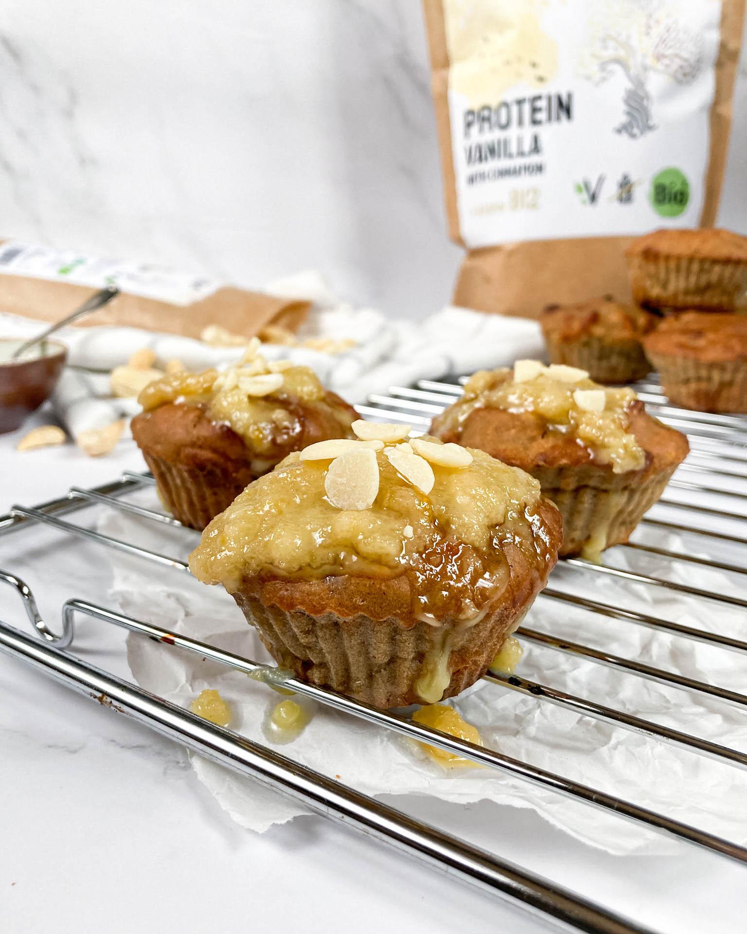 Vanilkové kešu muffiny