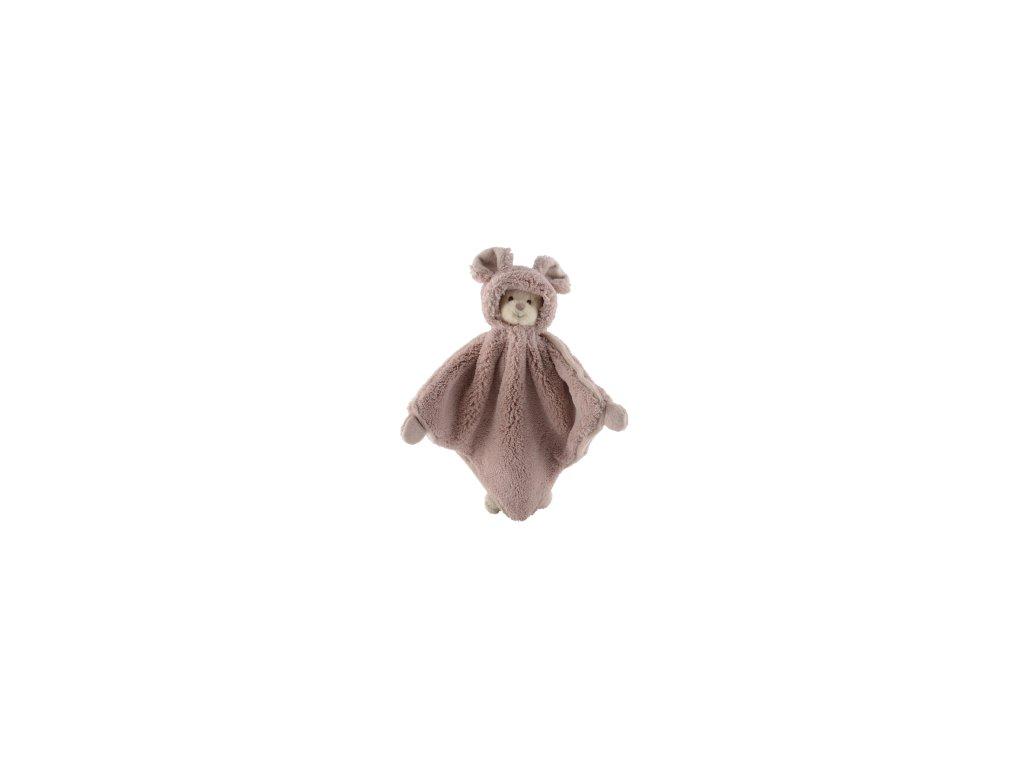 BK ZIGGY muchláček šedo-růžový