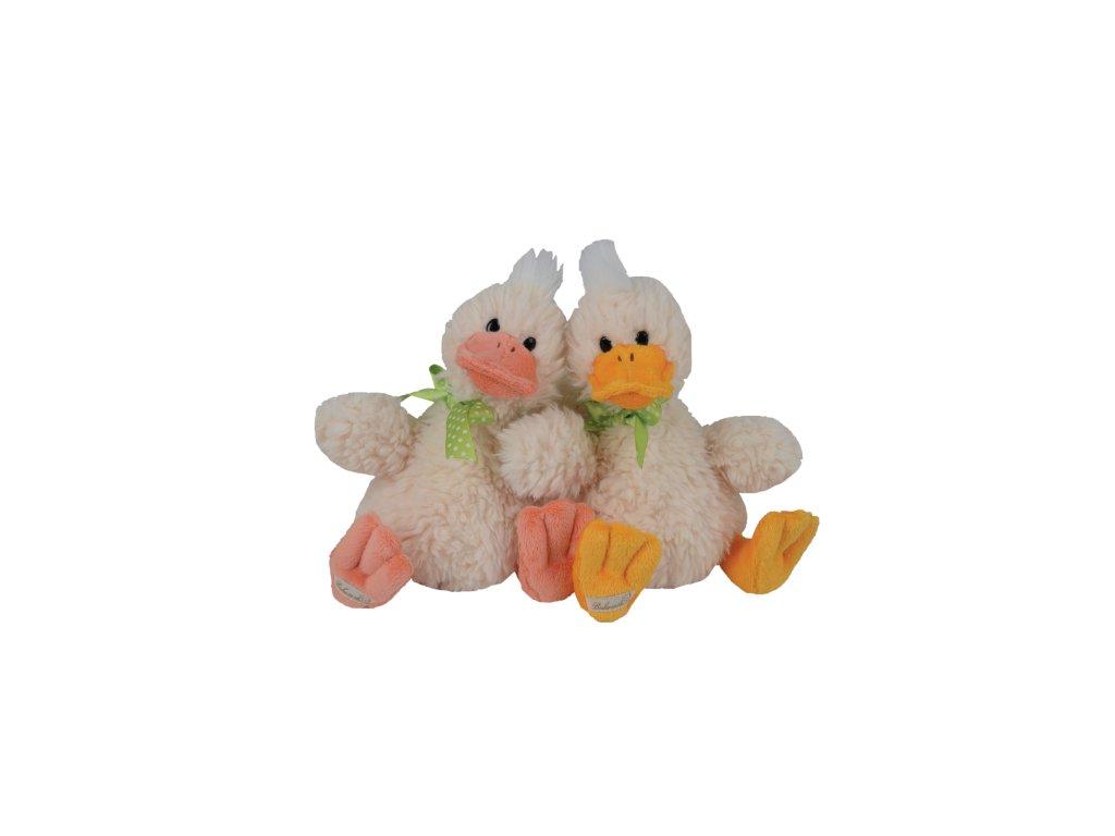 kachna QUACK BROTHERS (růžový zobák)