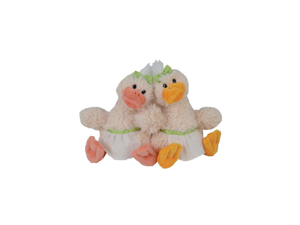 kachna QUACK SISTERS (oranžový zobák)