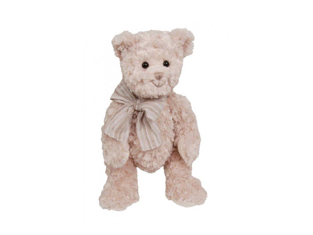 BK PIERROT medvěd s proužkatou mašlí