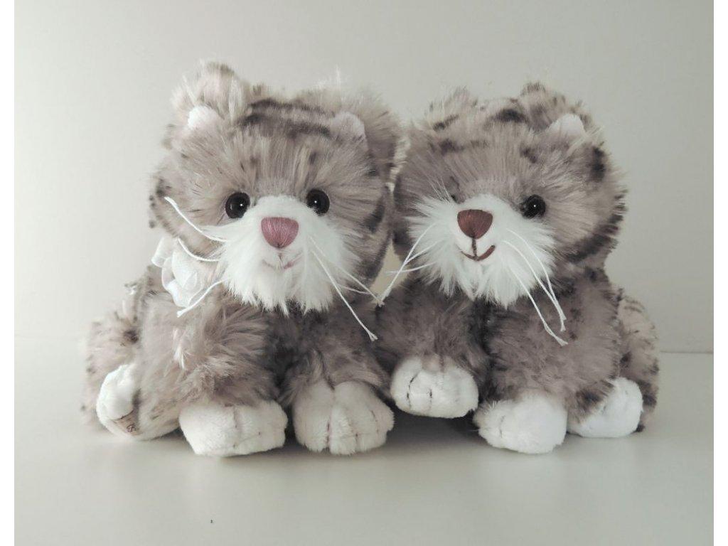 BK LITTLE MACIEK šedivá (mourovatá) kočka