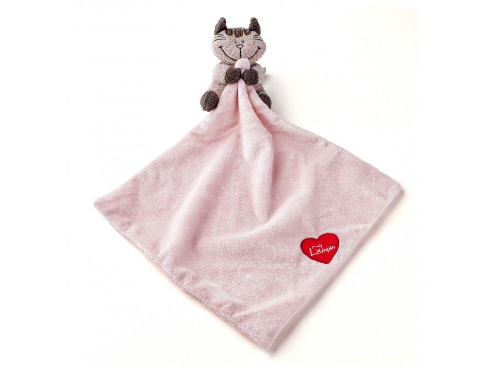 Muchláček baby kočička ANGELIQUE 30x30 cm