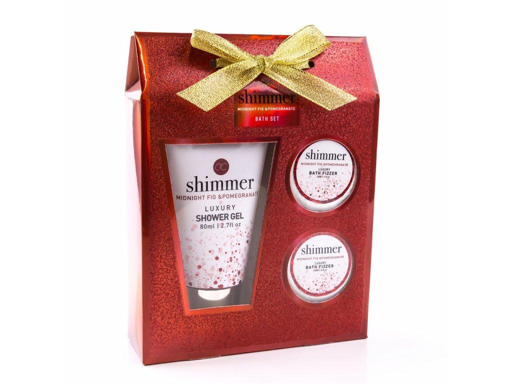 Koupelový set SHIMMER