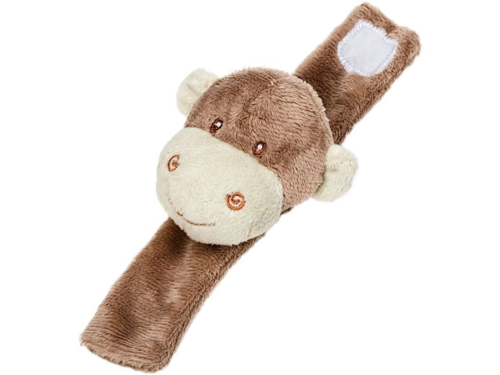 opička MOJO chrastítko na ruku