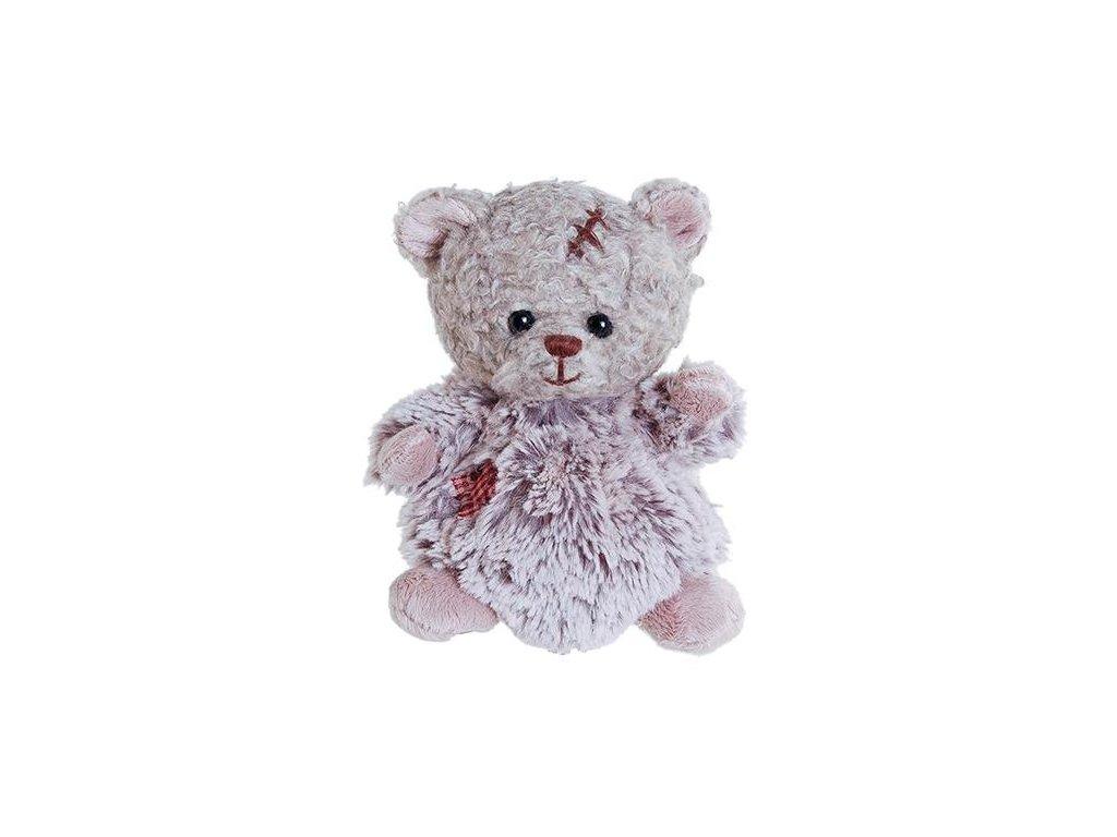 BK BABY ARNOLD šedý medvídek s kožíškem