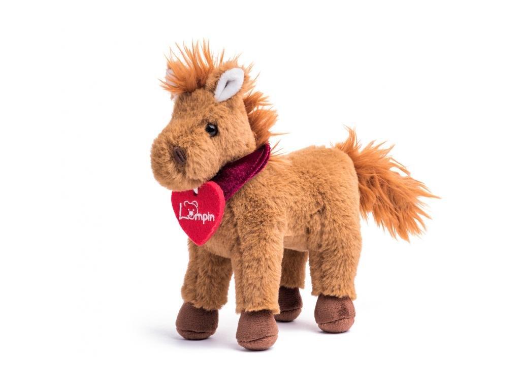 Kůň STEFAN hnědý 15cm