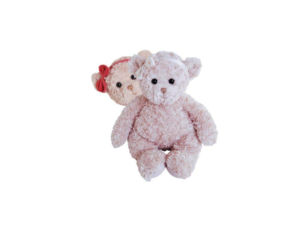 BK POLA THE LITTLE SISTER medvěd s červenou mašlí