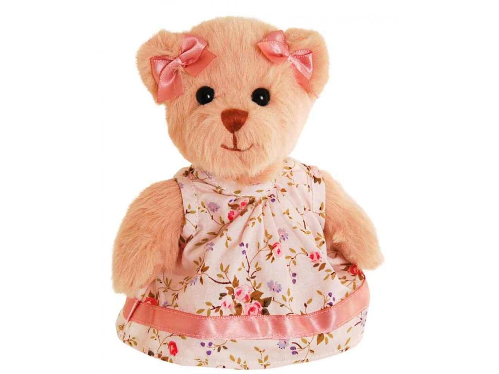 BK MARISSA medvídek šatech (15cm)