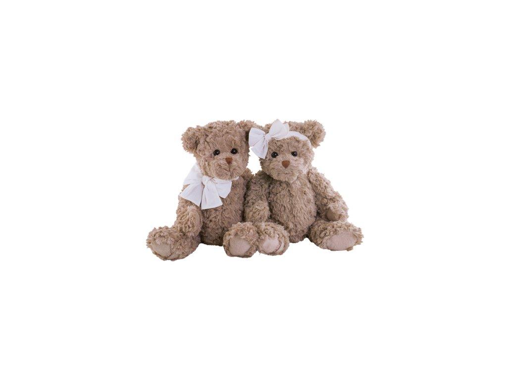 BK DOUX ETHAN medvídek s mašlí na krku