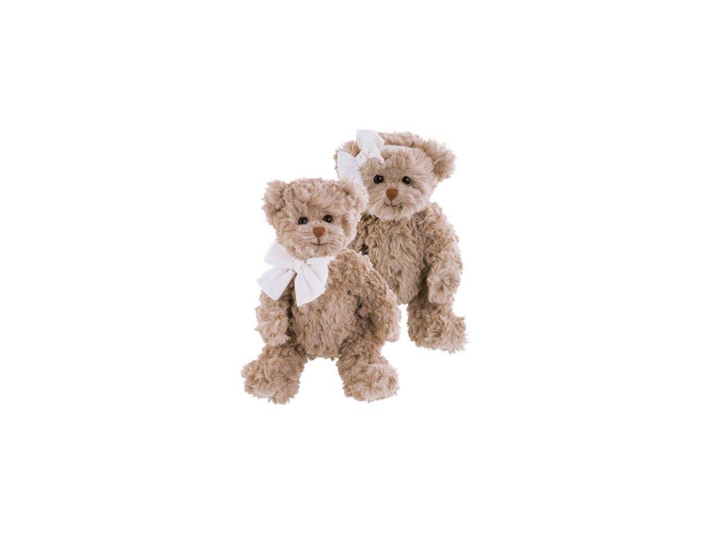 BK LE PETIT ETHAN medvídek s mašlí na krku