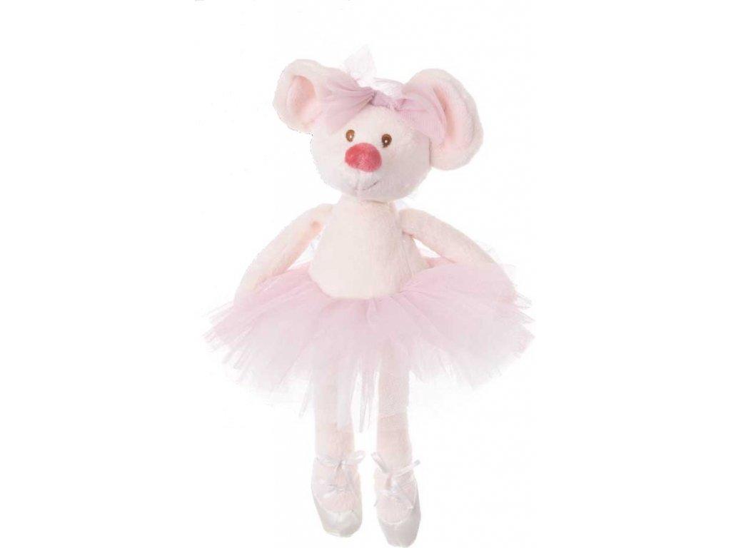BK ANTONIA DANCING MOUSY myška, růžová sukně
