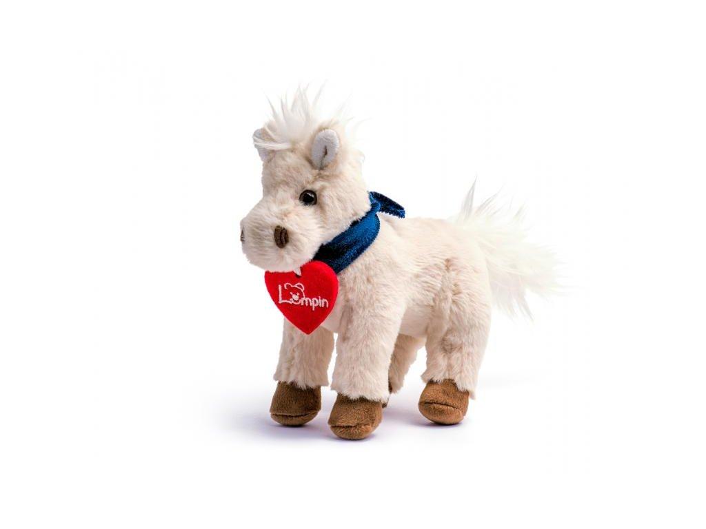 Kůň JURAJ bílý malý 15cm
