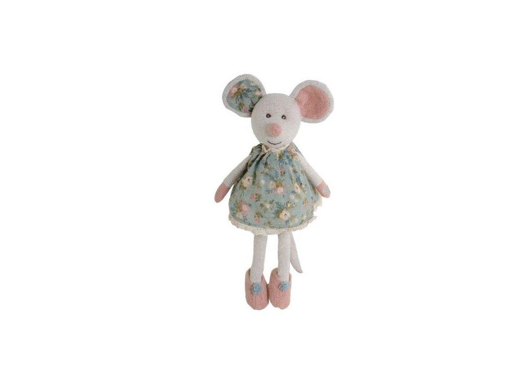 BK CLEMENTIA myška v květinových šatech