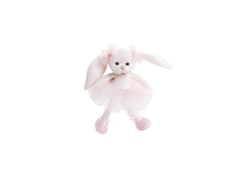 BK LITTLE DANCING MONIQUE zajíček, baletka růžová