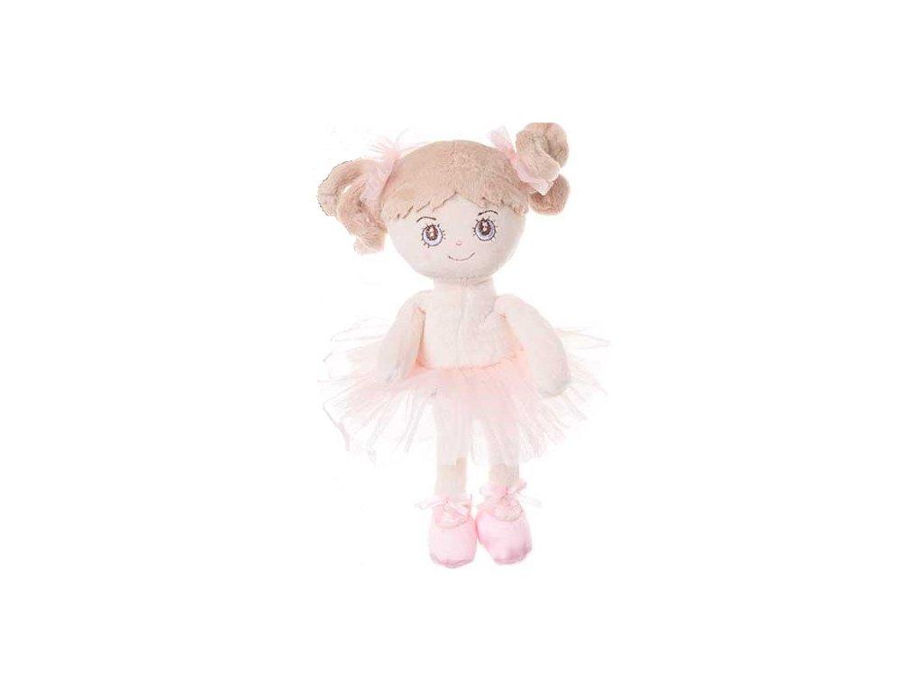 BK LITTLE BALLERINA panenka baletka, světlé vlasy  (15cm)