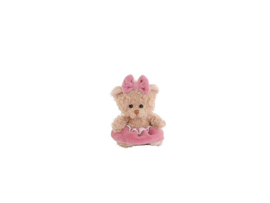 BK CUPCAKE GIRL medvídek s růžovou sukní